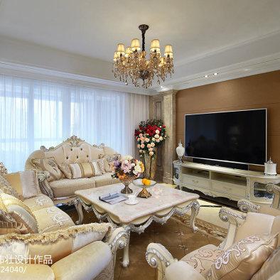 160㎡沐雪雅律·值得收藏的欧式公寓_3032342