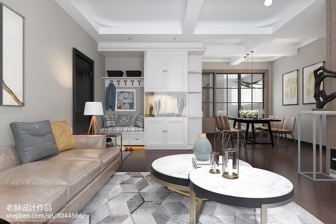 月湖兰庭住宅现代简约风格改造_303