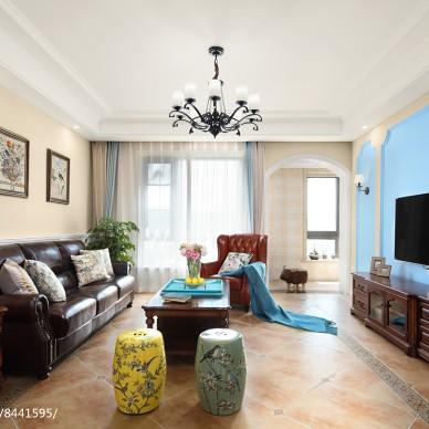 蓝山·美式客厅设计图