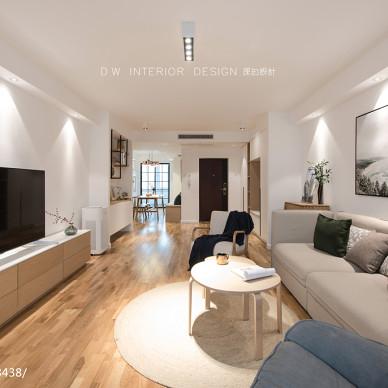 三居客厅沙发设计图