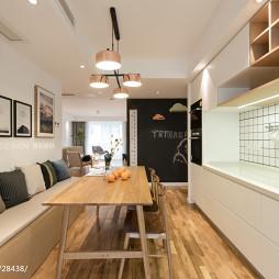 三居客厅餐厅设计图片