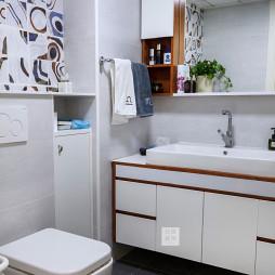可爱北欧二居卫浴设计图