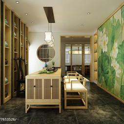 新中式办公空间设计作品_3046654
