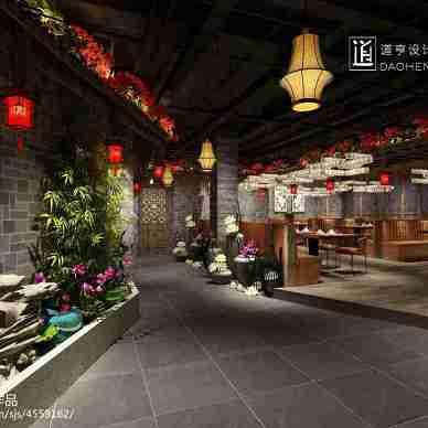 中餐厅设计_3050706