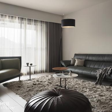 現代三居小客廳設計效果圖