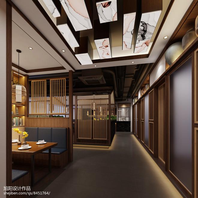 中式茶餐厅设计_3054532