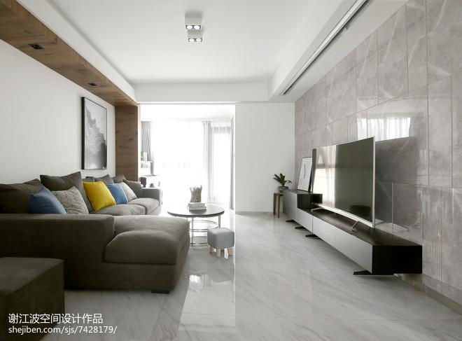 现代家装背景墙大理石设计图