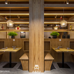 味彩日料餐厅桌椅设计图