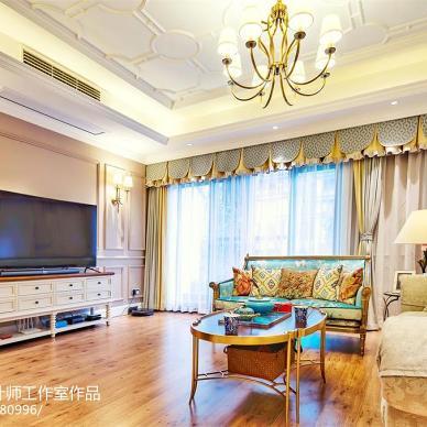 现代美式别墅--斑斓的记忆_3068201