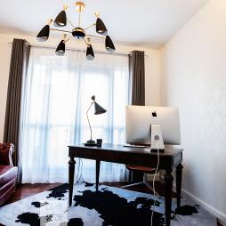 美式别墅男卧室设计图