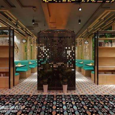 烤鱼店设计,餐饮空间_3072817