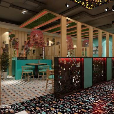 烤鱼店设计,餐饮空间_3072818