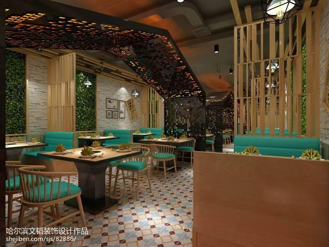 烤鱼店设计,餐饮空间_3072820