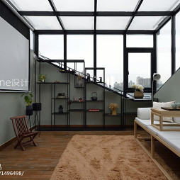 小型简约复式休闲区设计图