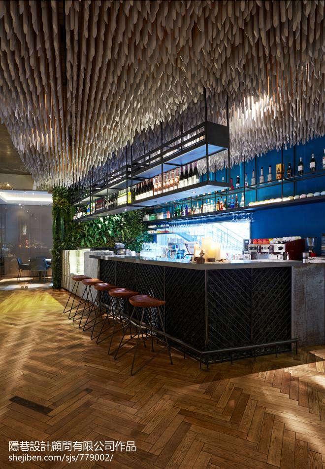 混搭餐饮空间吧台设计图片