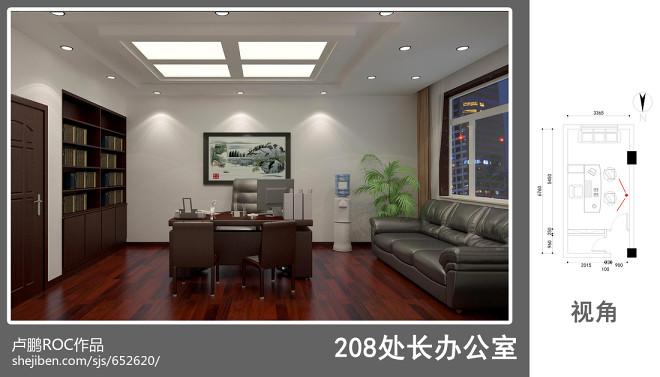 济南无线电办公室装修_3077171