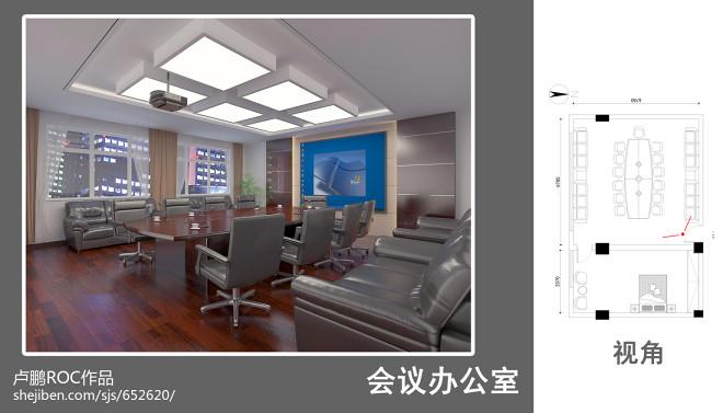 济南无线电办公室装修_3077172
