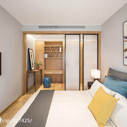 小型混搭卧室书房设计图