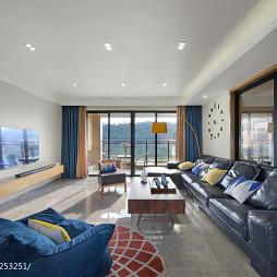 145㎡ 现代简约客厅设计图片