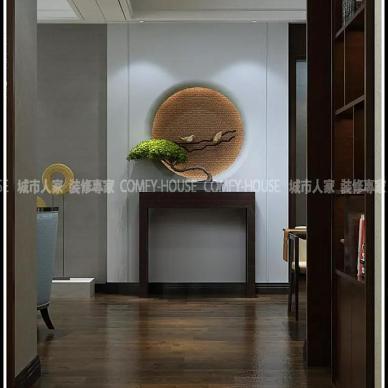 设计|温馨雅致,清远静美——金域东山160㎡现代中式_3080288