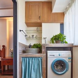 80㎡二手房阳台洗衣机摆放设计图