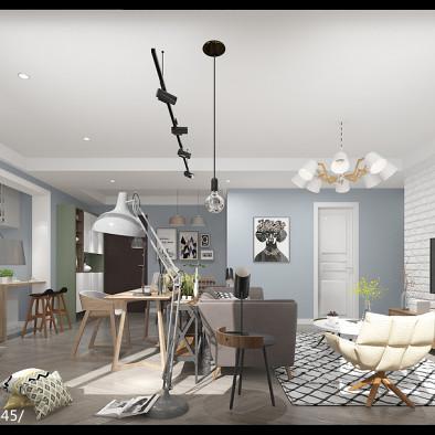 望江橡樹林三期5-1-3406平層住宅設計_3082992