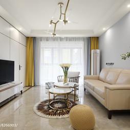 现代三居小客厅设计图