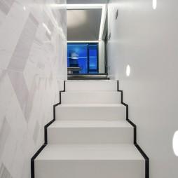 虹梅现代别墅楼梯设计图