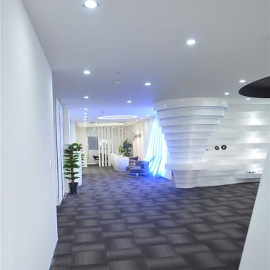 广州魔音公司办公室装修设计案例_3094400
