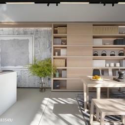现代餐厅储物柜设计图