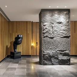 度假酒店电梯厅设计图