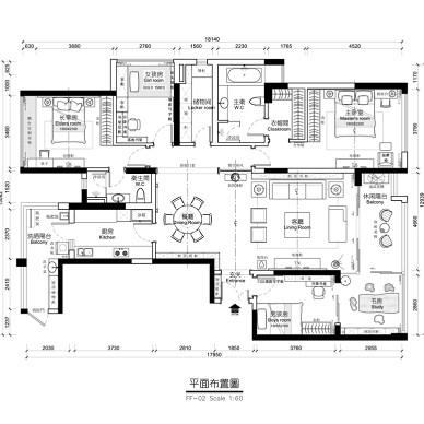 广州番禺大学小筑--新中式风格_3094740