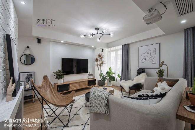 170方复式客厅设计图