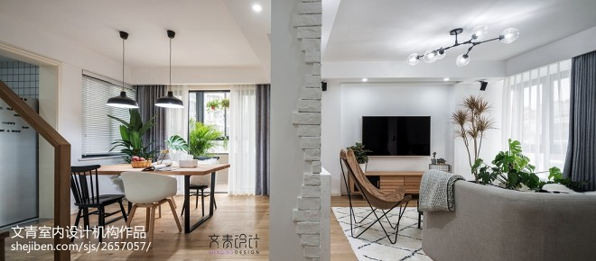 新作《木景记》杭州清水公寓170方复