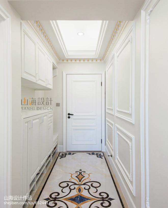 法式豪宅玄关设计图