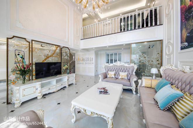 法式豪宅客厅实景图片