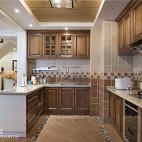 美式复式厨房设计图片
