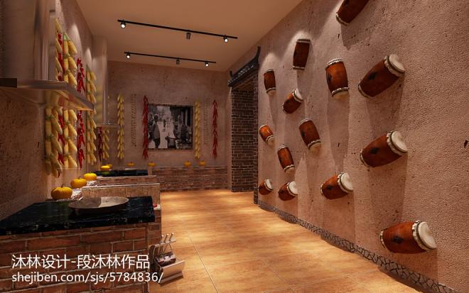 太原餐厅装修设计-沐林设计(老味道大