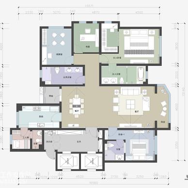 现代古典美学之新中式住宅设计(…_3110728