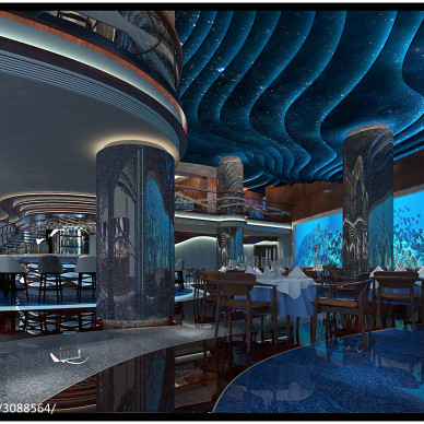 海洋主题餐厅_3113789