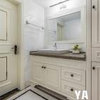 220平法式混搭洗手台设计图
