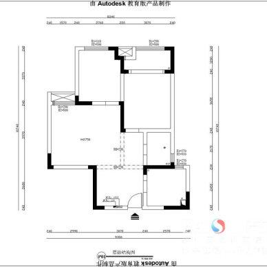 芜湖【赭山春秋】80平米美式设计作品_3115570