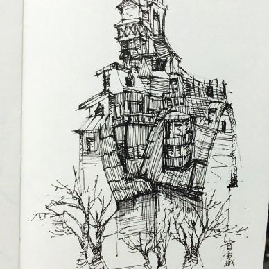 个人手绘作品_3115575