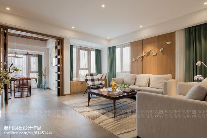 现代四居沙发实景图片