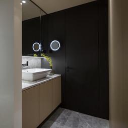150㎡ 现代时尚卫浴洗手台设计图