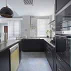北欧复式厨房实景图片