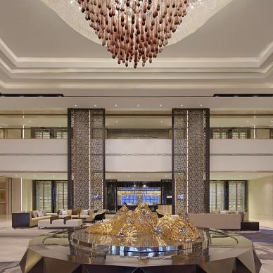 东方银座铂尔曼酒店大堂设计图
