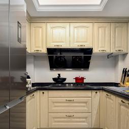 简约小户型厨房实景图