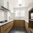 88平北欧厨房实景图