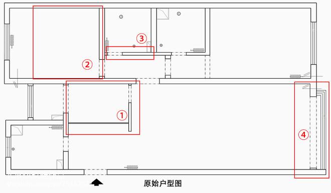 用一排栏杆做成个假阳台,给设计师打c
